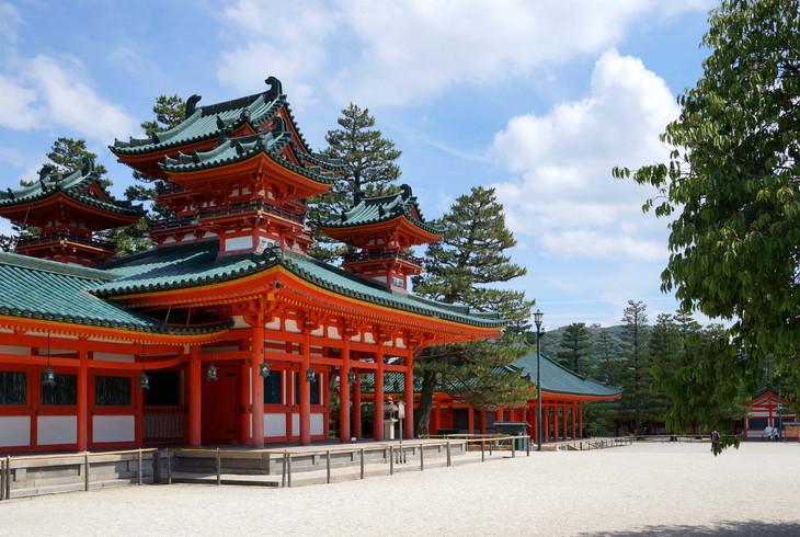 建築 インテリア 平安神宮