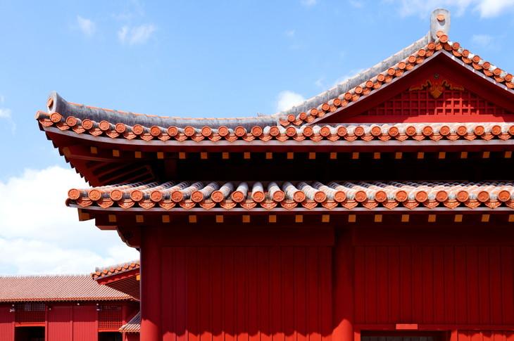 建築 インテリア 首里城